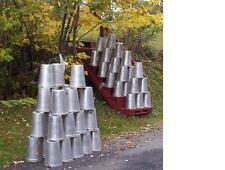 25 GREAT Aluminum Sap Buckets 2 GALLON SIZE Maple Syrup Bucket W@W!!