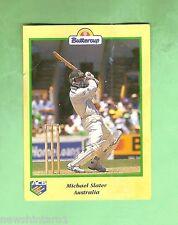 1995 BUTTERCUP CRICKET CARD - MICHAEL SLATER BATTING, AUSTRALIA
