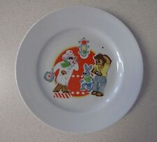 Russian Soviet Plate Porcelain doctor Ai Bolit for Child DULEVO factory Айболит