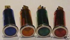 Set Di Avvertimento Luci Blu Giallo Verde Rosso 60s Stile