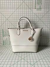 Новая с ценниками Michael Kors trista большой мешок кожаная сумка через плечо сумочка