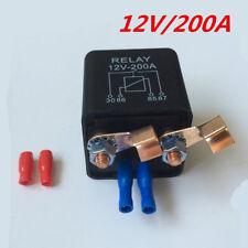Hochleistung 12V 200A Relais mit Terminal für Auto Kfz Lkw ATV Motor Batterie