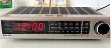 Philips De Colección Retro Original 1970s 1980s 80s Radio Despertador Electrónico