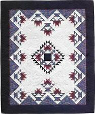 AMISH BASKET MEDALLION PATCHWORK  VINTAGE QUILT PATTERN