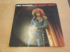 Neil Diamond  Hot August Night   MCA Records    MCA 2-8000    1972    Gatefold