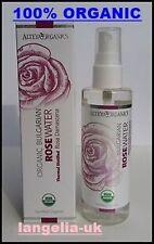 Alteya Organics - 100% ORGANIC  ALCOHOL FREE Rose Water - Rosa Damascena Spray