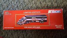 Racing Champions 1:64 Scale Diecast Bank With Lock #51 Transporter Nascar