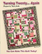 TURNING TWENTY... AGAIN Fat Quarter Quilt Pattern Book FriendFolks FF111
