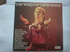 David Bowie, World of David Bowie LP from 1973 ( unplayed)