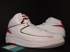 timeless design 483f4 d705b 2008 NIKE AIR JORDAN II 2 Retro COUNTDOWN CDP WHITE BLACK RED CEMENT GREY  NEW 9