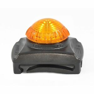 Adventure Lights Guardian Hunting Dog Series Yellow LED Safety Collar Clip Light