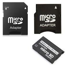 Memory Card Adapter Kit: MicroSD to Mini - MicroSD to SD - MicroSD to MS Pro Duo