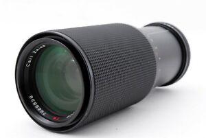 Near Mint Contax Carl Zeiss Vario-Sonnar T 80-200mm f4 MMJ MF Lens JAPAN 773631