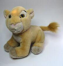 "NALA Young Cub Plush - Walt Disney World Lion King 9"" Stuffed Toy Sitting VTG"