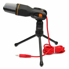 Condenser Sound Studio Recording Microphone Dynamic Mic With Stand Holder Mount