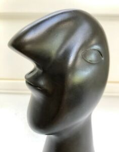 SOLID BRONZE HEAD AFTER PICASSO CAST AT UK FOUNDRY LIMITED EDITION SIGNED ARTIST