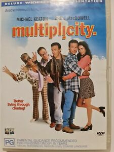 Multiplicity - DVD - Region 4 - PAL - Very Good Condition - Free Post