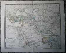 1855 Spruner historical map REGNA SUCCESSORUM ALEXANDRI MAGNI (#26)