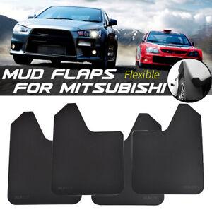 For Mitsubishi Rally Mud Flaps Splash Guards Mudguards Mudflap Fender Flexible
