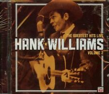 HANK WILLIAMS - THE GREATEST HITS - LIVE, VOL. 2 - CD - NEW