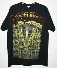 Throwdown by Affliction Men's Graphic Black T-Shirt Sz Medium ANYTIME ANYPLACE