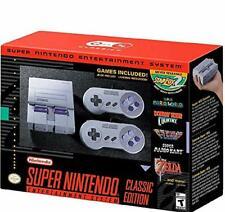 NEW Super Nintendo Entertainment System Classic SNES Mini Edition,21 Games