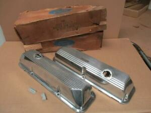 69 70 Ford Mustang Shelby 428 CJ Valve Covers  NOS FOMOCO C9ZZ-6582-B