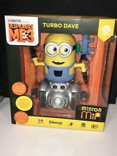 NEW Wowwee Despicable Me 3 Minion MiP Turbo Dave Bluetooth Robot NEW IN PACKAGE