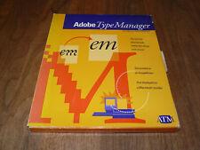 Adobe TypeManager englische Vollversion für Mac, Rarität