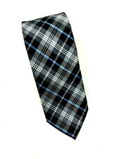 Chaps Young Man's Skinny Tie Plaid Polyester Necktie
