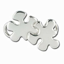 Convertible Sterling Silver Autism Puzzle Piece