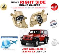 Para Jeep Wrangler III JK 2007-ON eje delantero, derecha de Pinza de freno 2.8 CRD 3.8