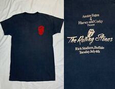 "Rare 1978 Tour ""Roadie"" 1970s Rolling Stones Gray Concert T Shirt"