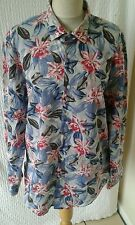 Floral slim fit shirt mens  chest 44 by zara man
