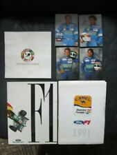 Ford / Benetton Formula One Factory Media Kit & Magazine & Pamphlet
