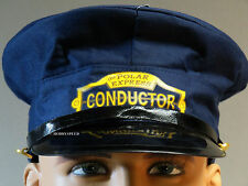 LIONEL THE POLAR EXPRESS YOUTH CONDUCTOR HAT train uniform child 9-51018 NEW