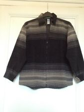 Veste zippée laine / chemise/ cardigan / gilet - UBAK - 10 ans - TBE