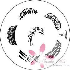 konad Image Plate M80 Disc Stamping Nail Art UK