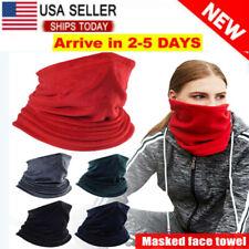 Cooling Face Scarf Mask Neck Gaiter Biker Tube Bandana Beanie Cover Cap Headwrap