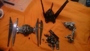 3 kg LEGO Star Wars Konvolut Sammlung verschiedene Raumschiffe