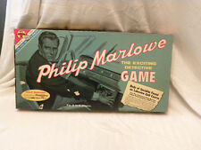 Philip Marlowe the exciting detective game by transogram 1960 Rare - COMPLETE