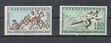 Tschechoslowakei 1183-84 ** Olympia 1960 kpl.