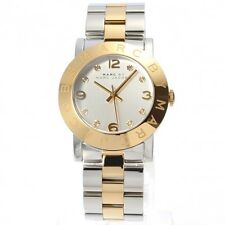NEW MARC JACOBS GOLD TWO TONE STAINLESS STEEL LADIES WATCH MBM3139