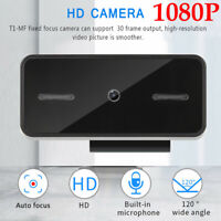 1080P HD Webcam USB2.0 Web Camera with MIC for Computer Laptop PC Video Calling