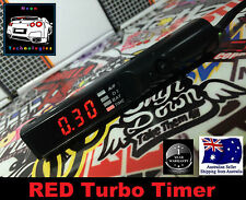 RED Turbo Timer *Auto Pen Style 4WD Diesel Hilux Landcruiser D22 o2 Volts Gauge*
