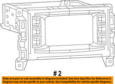 Jeep CHRYSLER OEM 2017 Cherokee-Stereo Audio Radio Dash Head Unit 68306938AB