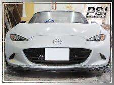 2016+ Mazda MX-5 Miata ND GV Type Carbon Fiber Front Bumper Lip