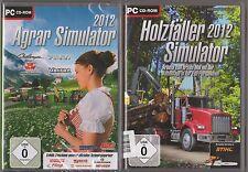Agrar Simulator 2012 + Holzfäller Simulator 2012 Sammlung PC Spiele
