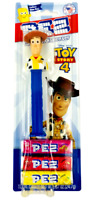 PEZ Disney Pixar WOODY - Candy & Dispenser TOY STORY 4 New Factory Sealed Carded