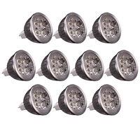 Lot10 New MR16 4W 360LM LED Spot Light Down Lamp White Light Energy Saving AC12V